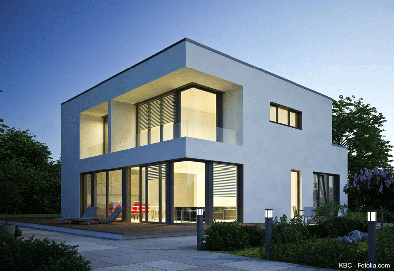 Low budget h user kosteng nstig bauen for Haus bauen moderne architektur
